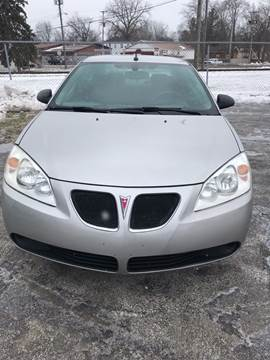2008 Pontiac G6 for sale in Mount Morris, MI
