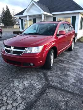 2010 Dodge Journey SXT for sale at SVS Motors in Mount Morris MI