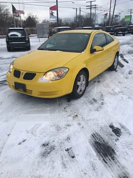 2009 Pontiac G5 for sale at SVS Motors in Mount Morris MI