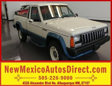 1987 Jeep Comanche for sale in Albuquerque, NM