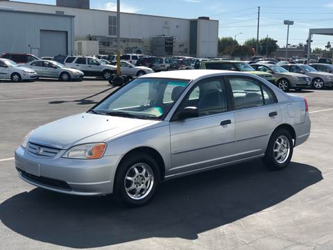 2001 Honda Civic For Sale In Sacramento, CA