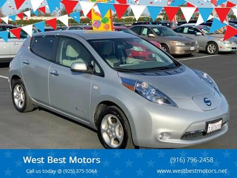 2011 Nissan LEAF for sale in Sacramento, CA