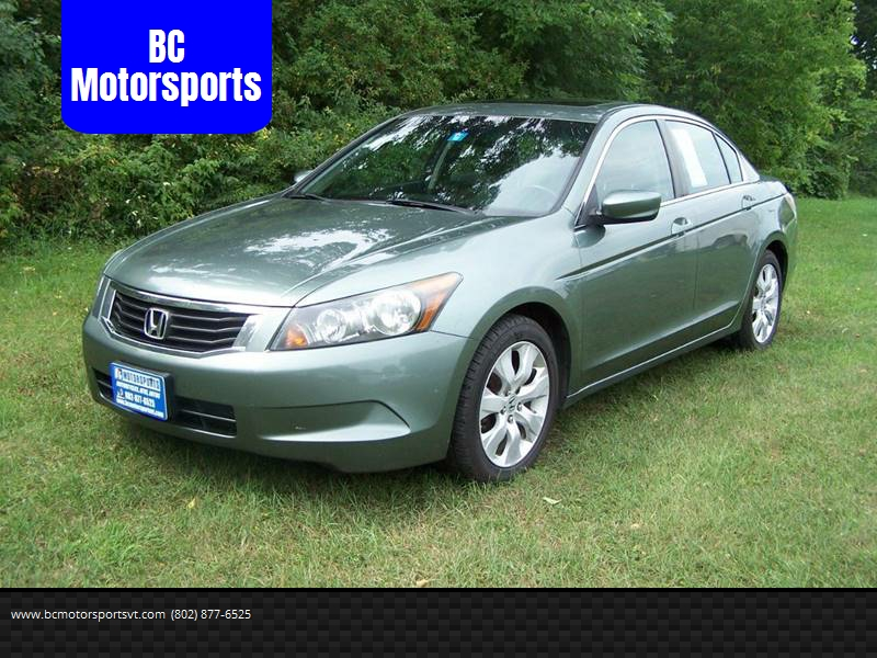 2010 Honda Accord For Sale At BC Motorsports In Ferrisburgh VT