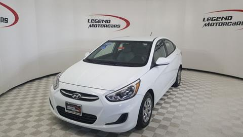 2016 Hyundai Accent for sale in Garland, TX