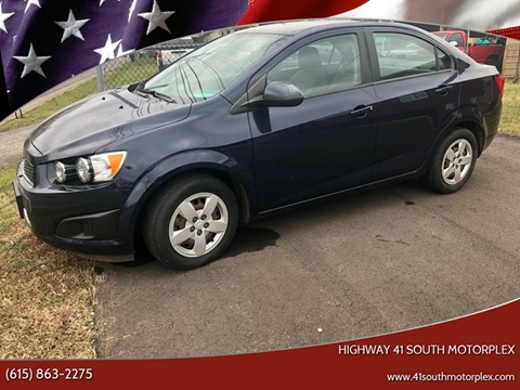 2015 Chevrolet Sonic for sale at Highway 41 South Motorplex in Springfield TN
