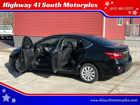 2017 Nissan Sentra for sale at Highway 41 South Motorplex in Springfield TN