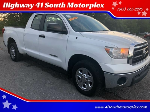 2011 Toyota Tundra for sale at Highway 41 South Motorplex in Springfield TN