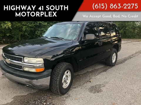 2006 Chevrolet Tahoe for sale at Highway 41 South Motorplex in Springfield TN
