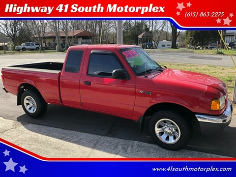 2002 Ford Ranger for sale at Highway 41 South Motorplex in Springfield TN