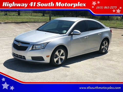2011 Chevrolet Cruze for sale at Highway 41 South Motorplex in Springfield TN