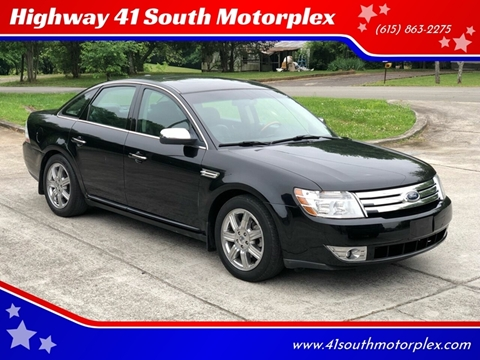 2008 Ford Taurus for sale at Highway 41 South Motorplex in Springfield TN