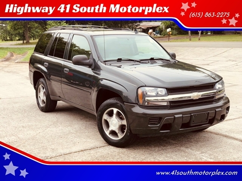 2007 Chevrolet TrailBlazer for sale at Highway 41 South Motorplex in Springfield TN