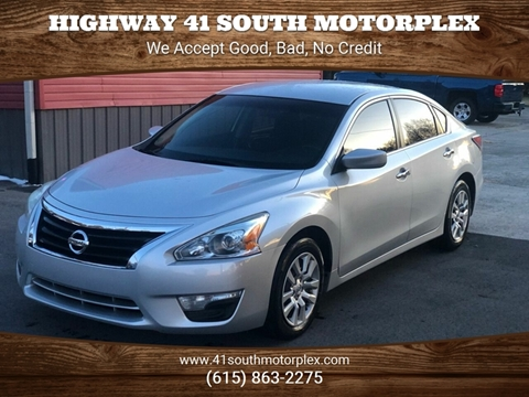 2014 Nissan Altima for sale at Highway 41 South Motorplex in Springfield TN