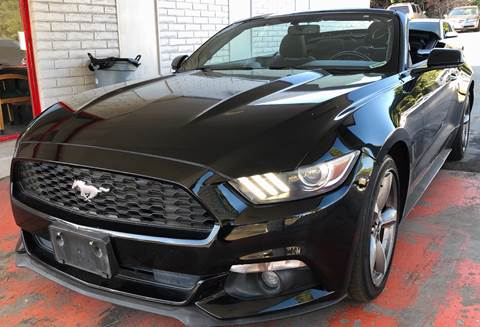 2015 Ford Mustang for sale at MotorSport Auto Sales in San Diego CA