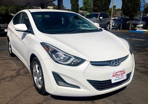 2014 Hyundai Elantra for sale at MotorSport Auto Sales in San Diego CA
