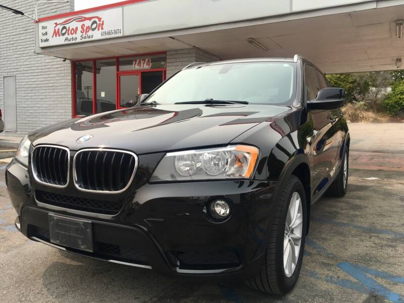 2013 BMW X3 for sale at MotorSport Auto Sales in San Diego CA