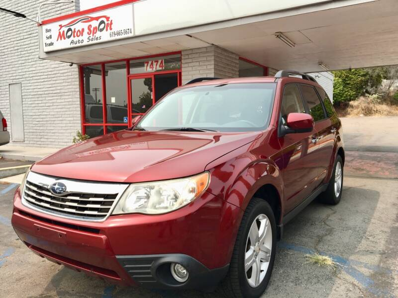 2009 Subaru Forester for sale at MotorSport Auto Sales in San Diego CA