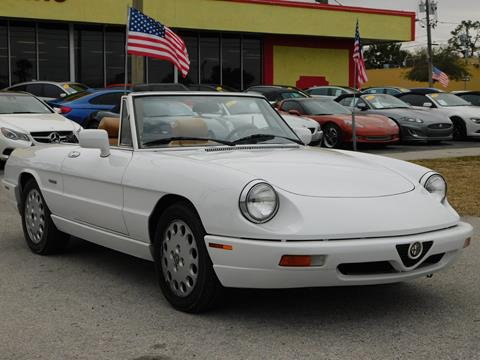 Alfa Romeo Spider For Sale In Houston TX Carsforsalecom - 1991 alfa romeo spider for sale