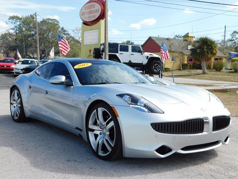 2012 Fisker Karma for sale in Tarpon Springs, FL