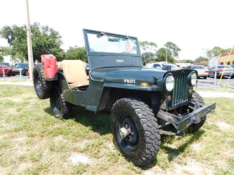1948 Jeep Willys for sale in Tarpon Springs, FL