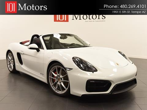 2015 Porsche Boxster for sale in Tempe, AZ