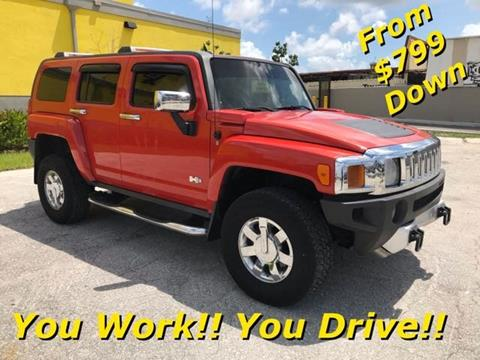2008 HUMMER H3 for sale in Miami, FL