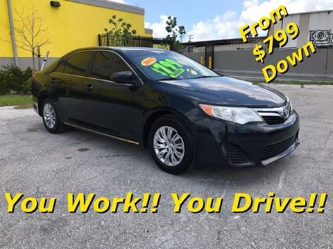 2013 Toyota Camry for sale in Miami, FL