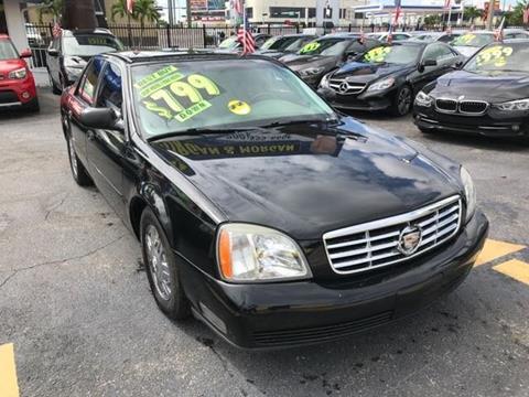 2005 Cadillac DeVille for sale in Miami, FL
