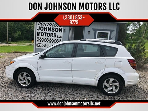 2004 Pontiac Vibe for sale in Lisbon, OH