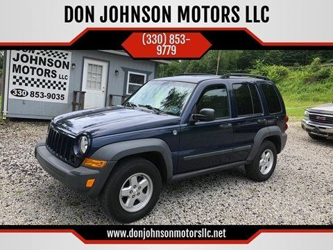 2007 Jeep Liberty for sale in Lisbon, OH
