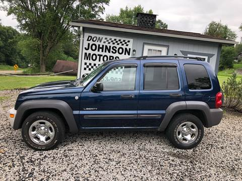 2004 Jeep Liberty for sale in Lisbon, OH
