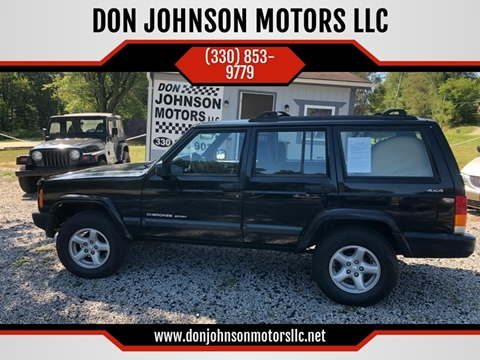 2000 Jeep Cherokee for sale in Lisbon, OH
