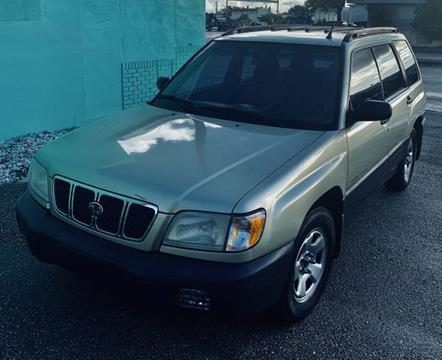 2001 Subaru Forester for sale in Fort Lauderdale, FL