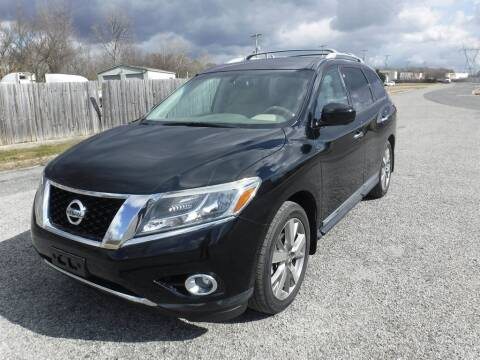 2014 Nissan Pathfinder Platinum for sale at Memphis Truck Exchange in Memphis TN