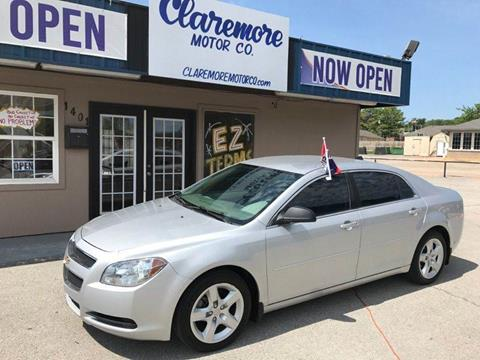 2012 Chevrolet Malibu for sale at Claremore Motor Company in Claremore OK