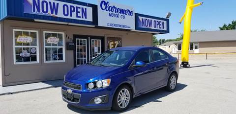 2012 Chevrolet Sonic for sale at Claremore Motor Company in Claremore OK