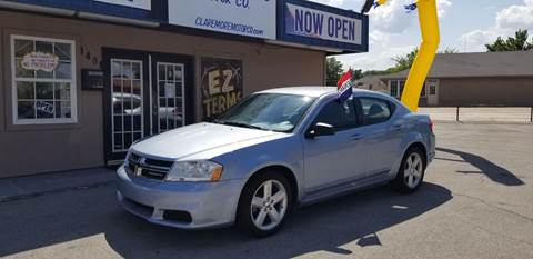 2013 Dodge Avenger for sale at Claremore Motor Company in Claremore OK