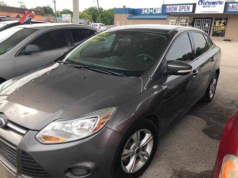 2014 Ford Focus for sale at Claremore Motor Company in Claremore OK
