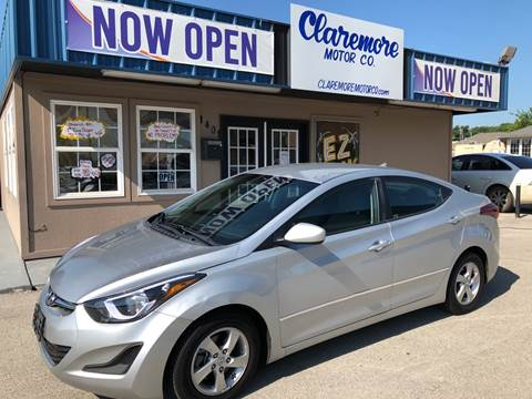 2014 Hyundai Elantra for sale at Claremore Motor Company in Claremore OK