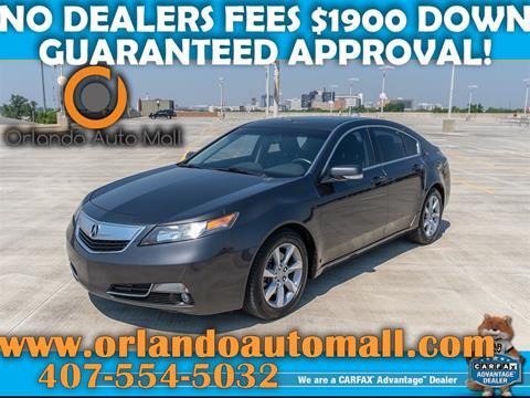 2012 Acura TL for sale in Orlando, FL