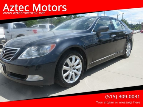2007 Lexus LS 460 for sale in Des Moines, IA
