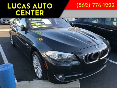 2012 BMW 5 Series for sale at Lucas Auto Center in South Gate CA