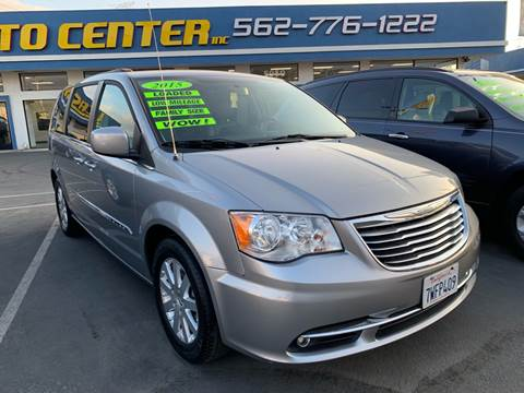 2015 Chrysler Town and Country for sale in South Gate, CA