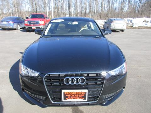 2013 Audi A5 for sale in Swanton, VT