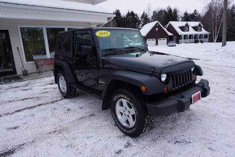 2010 Jeep Wrangler for sale in Swanton, VT