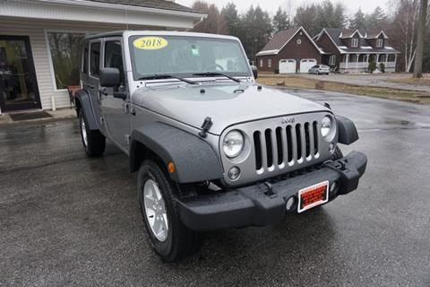 2018 Jeep Wrangler Unlimited for sale in Swanton, VT
