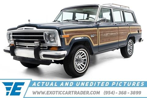 1990 Jeep Grand Wagoneer for sale in Fort Lauderdale, FL