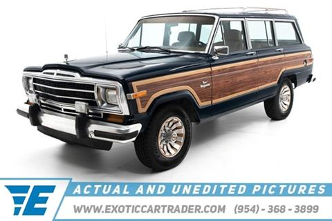 1986 Jeep Grand Wagoneer for sale in Fort Lauderdale, FL