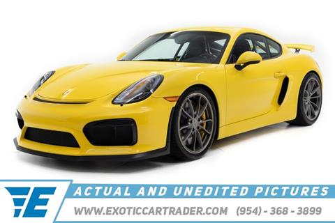 2016 Porsche Cayman for sale in Fort Lauderdale, FL