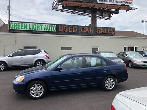 2003 Honda Civic for sale at Green Light Auto in Sioux Falls SD